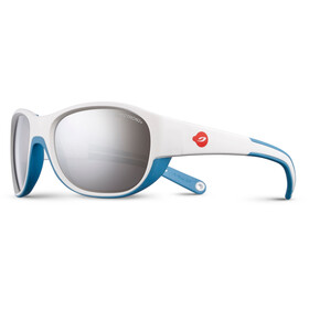 Julbo Luky Spectron 3+ Sunglasses Kids 4-6Y White/Blue-Gray Flash Silver